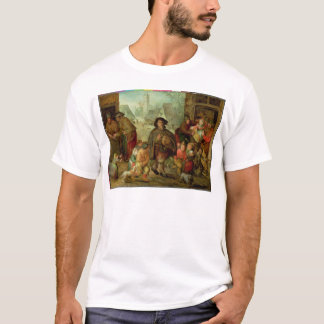 The Blind Hurdy Gurdy Player T-Shirt