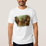 The Blind Hurdy Gurdy Player T-shirts