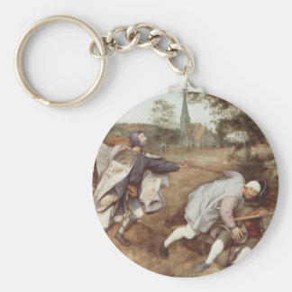 The Blind Leading the Blind - 1568 Keychain