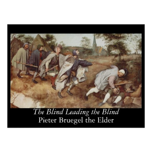 The Blind Leading the Blind - 1568 Posters