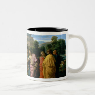 The Blind of Jericho Two-Tone Coffee Mug