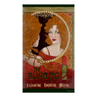 The Blind Pig Vintage Artwork Poster
