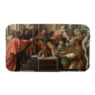 The Blinding of Elymas (cartoon for the Sistine Ch iPhone 3 Cases