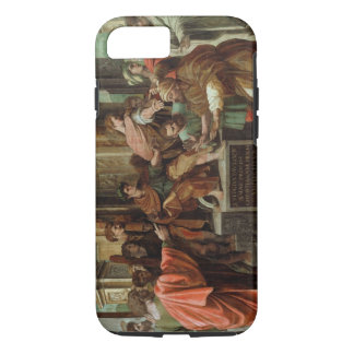 The Blinding of Elymas (cartoon for the Sistine Ch iPhone 8/7 Case