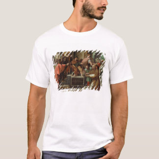 The Blinding of Elymas (cartoon for the Sistine Ch T-Shirt