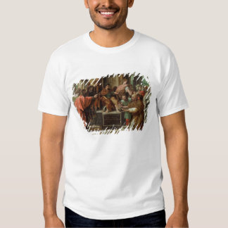 The Blinding of Elymas (cartoon for the Sistine Ch Tee Shirts