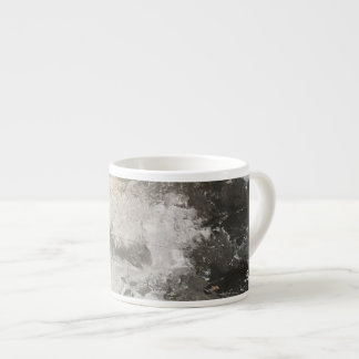 The Blizzard Mug Gray and White Tones