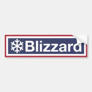 The Blizzard of 2018 Bumper Sticker