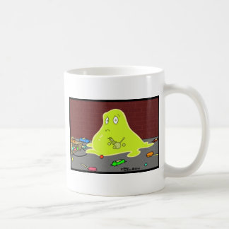 The Blob - Caught in the act! Basic White Mug