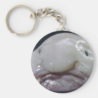 The Blobfish Key Chain