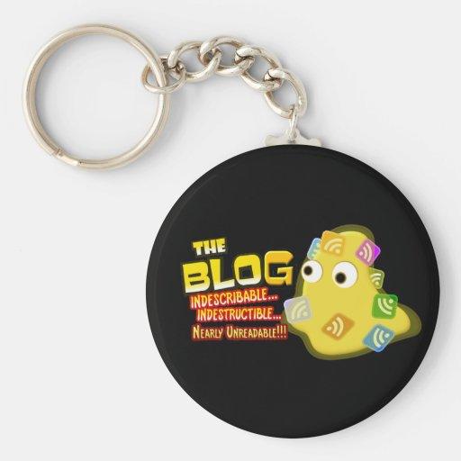 The Blog Blob Social Design Keychains