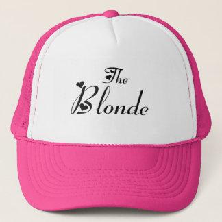 The blonde cap
