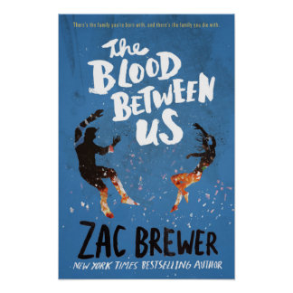 The Blood Between Us Hardcover Artwork Poster