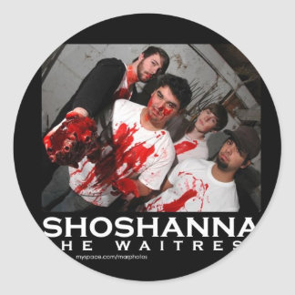 The Blood's Classic Round Sticker
