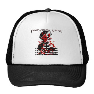 The Bloody Flag-Abraham Lincoln Mesh Hat