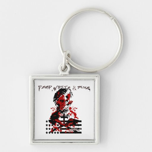 The Bloody Flag-Abraham Lincoln Keychain