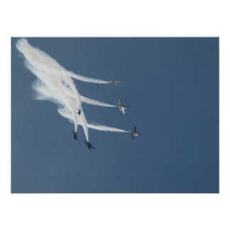 The Blue Angels Demonstration Team Print