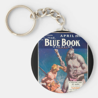The Blue Book Magazine _April 1930_6_Pulp Art Basic Round Button Key Ring