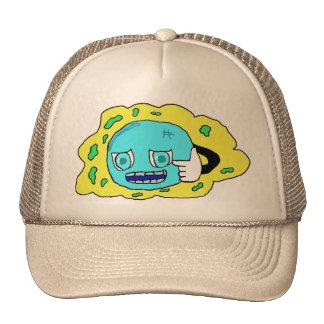 the blue bubble trucker hats