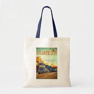 The Blue Comet Train Budget Tote Bag