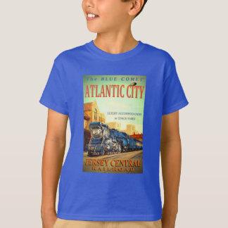 The Blue Comet Train Kids T-Shirt