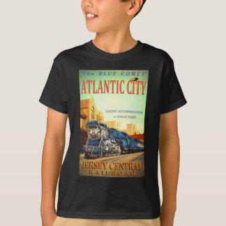 The Blue Comet Train Kid's T-Shirt