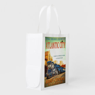 The Blue Comet Train Reusable Shopping Bag