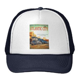 The Blue Comet Train Trucker Hat