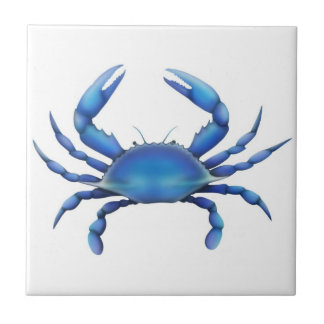 The Blue Crab Tile