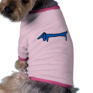 The Blue Dachshund Ringer Dog Shirt