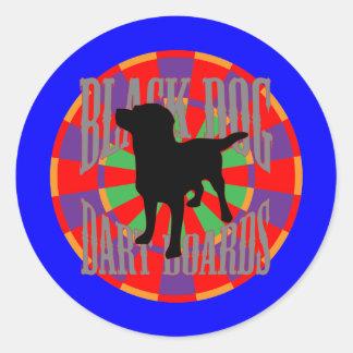 The Blue Devil Round Sticker