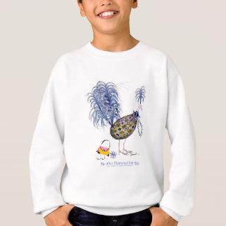The Blue Diamond Fab Egg, tony fernandes Sweatshirt