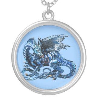 The blue dragon - jewelry