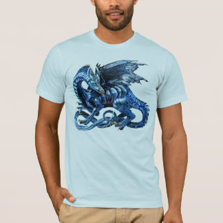 The blue dragon - T-Shirt