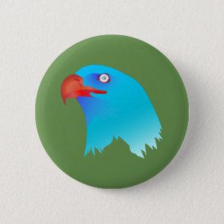 The Blue Eagle 6 Cm Round Badge