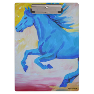 The Blue Horse Clipboard