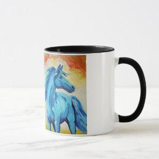 The Blue Horse Mug