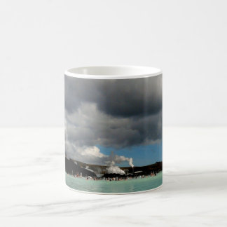The Blue Lagoon, Iceland Basic White Mug