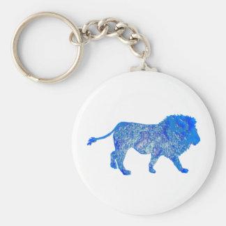 THE BLUE LION KEY RING