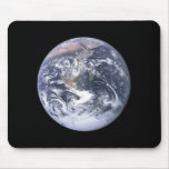 """""""The Blue Marble"""" Earth seem from Apollo 17 Mouse Mats"""