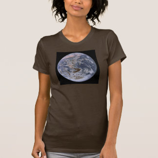 The Blue Marble Earth seem from Apollo 17 T Shirts