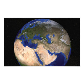 The Blue Marble Next Generation Earth 2 Photo Print