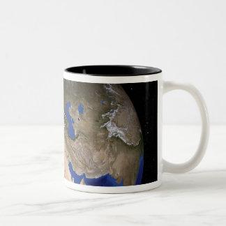 The Blue Marble Next Generation Earth 2 Two-Tone Coffee Mug