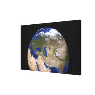 The Blue Marble Next Generation Earth Canvas Print