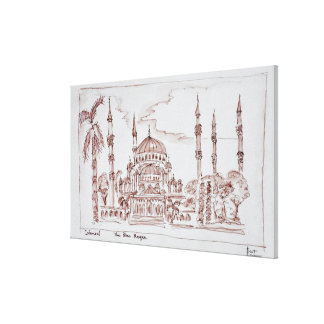 The Blue Mosque | Istanbul, Turkey Canvas Print