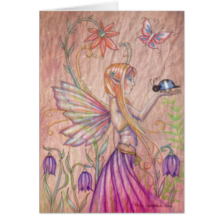 The Blue One Fairy Greeting Card