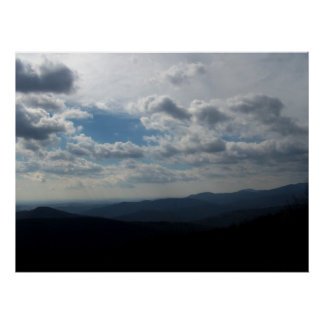 """The Blue Ridge Mountains"" Canvas Print"