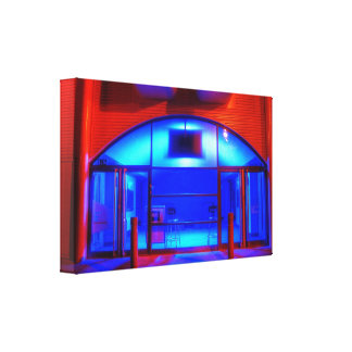 The Blue Room Gallery Wrap Canvas