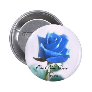 The Blue Rose Coven Pin