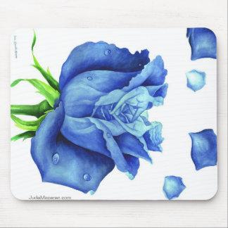 THE BLUE ROSE MOUSEPAD